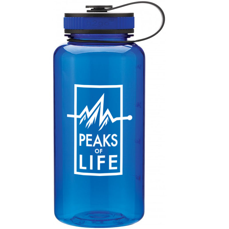 Peaks of Life water bottle